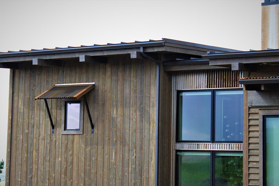 joe robb custom home siding