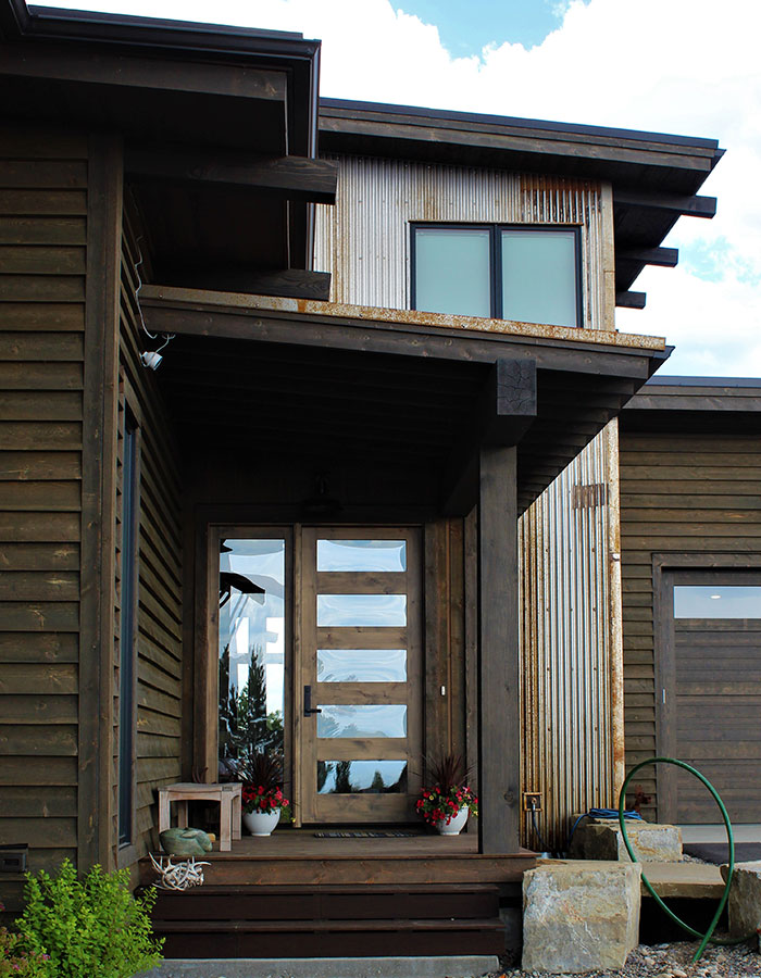 joe robb custom home front of house